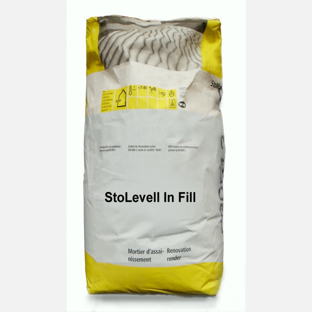Гипсовая шпатлевка StoLevell In Fill 15кг